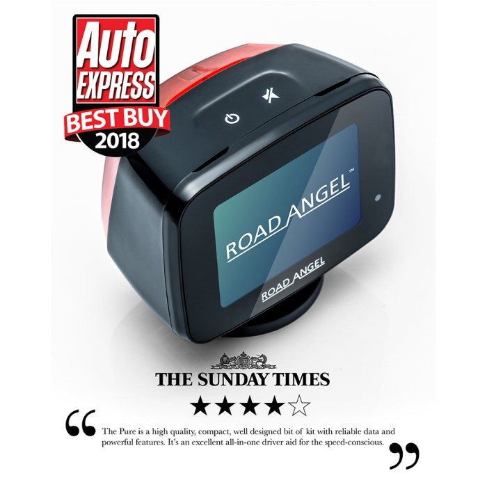 Speed Camera Detectors Road Angel Pure1 3