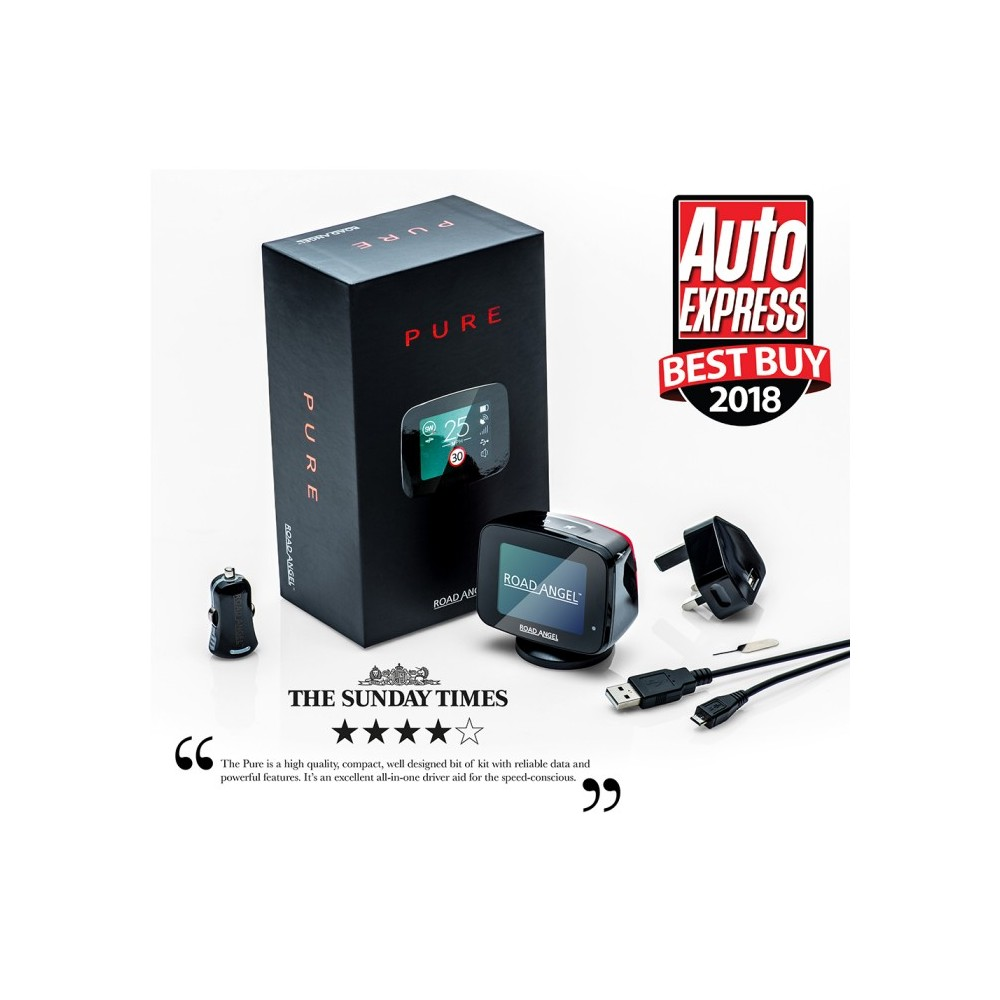 Speed Camera Detectors Road Angel Pure1 5