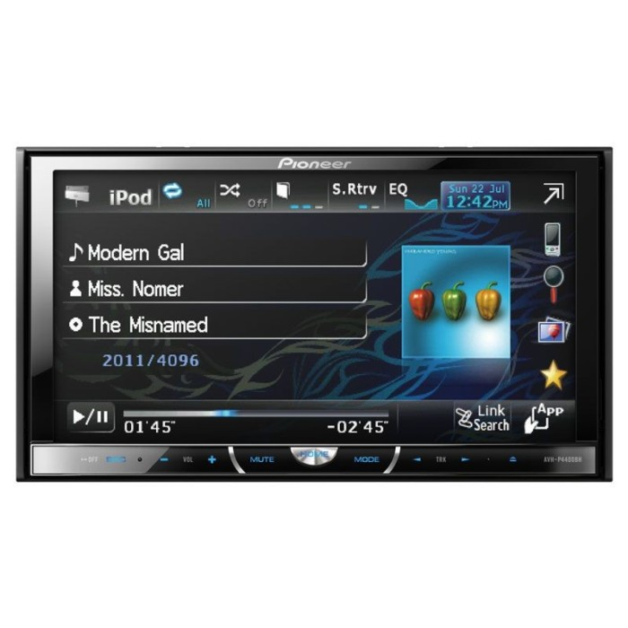 Double din screen Pioneer AVH-4400BT