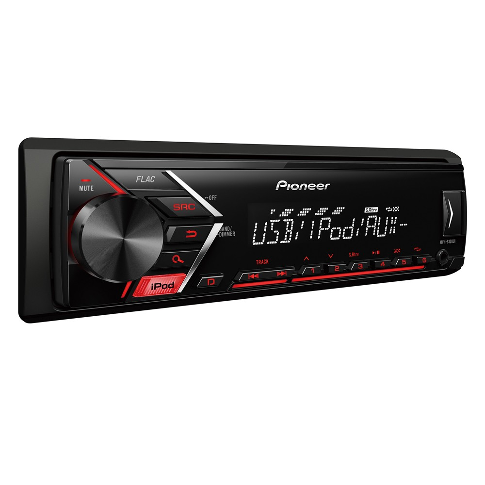 mvh s100ui digital car stereo with rds tuner ipod direct. Black Bedroom Furniture Sets. Home Design Ideas