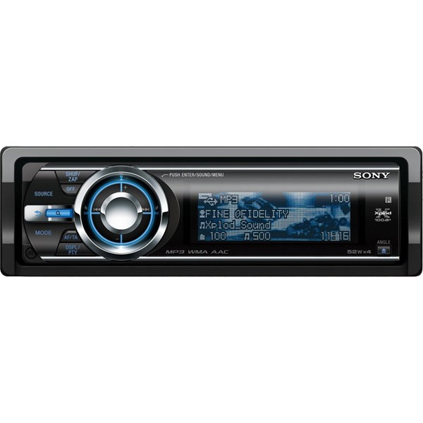 Sony CDX-GT930UI CD / MP3 car stereo with iPod control - CDX-GT930UI ...