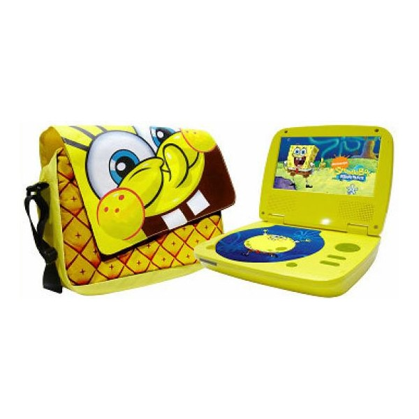 CKO Sponge Bob Portable DVD Player