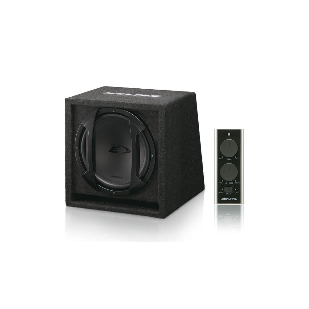 Enclosed Subwoofers Alpine Car Audio Systems SWE-815
