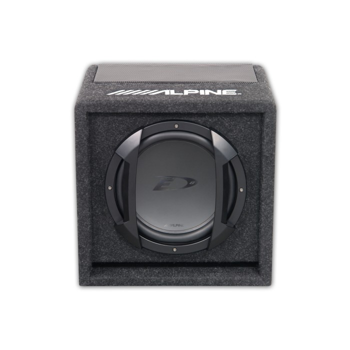 Enclosed Subwoofers Alpine Car Audio Systems SWE-815 1