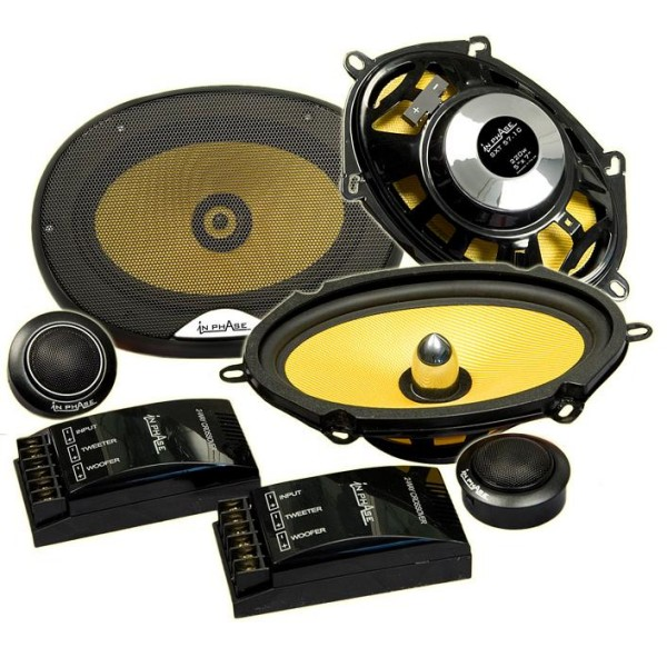 Car Speakers In Phase Car Audio SXT57.1C