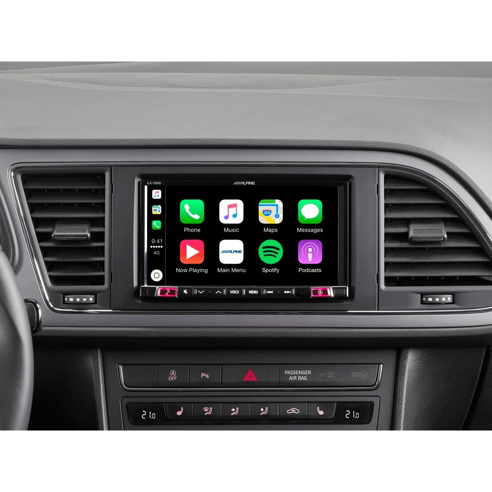 alpine 7 mobile media system with apple carplay android. Black Bedroom Furniture Sets. Home Design Ideas