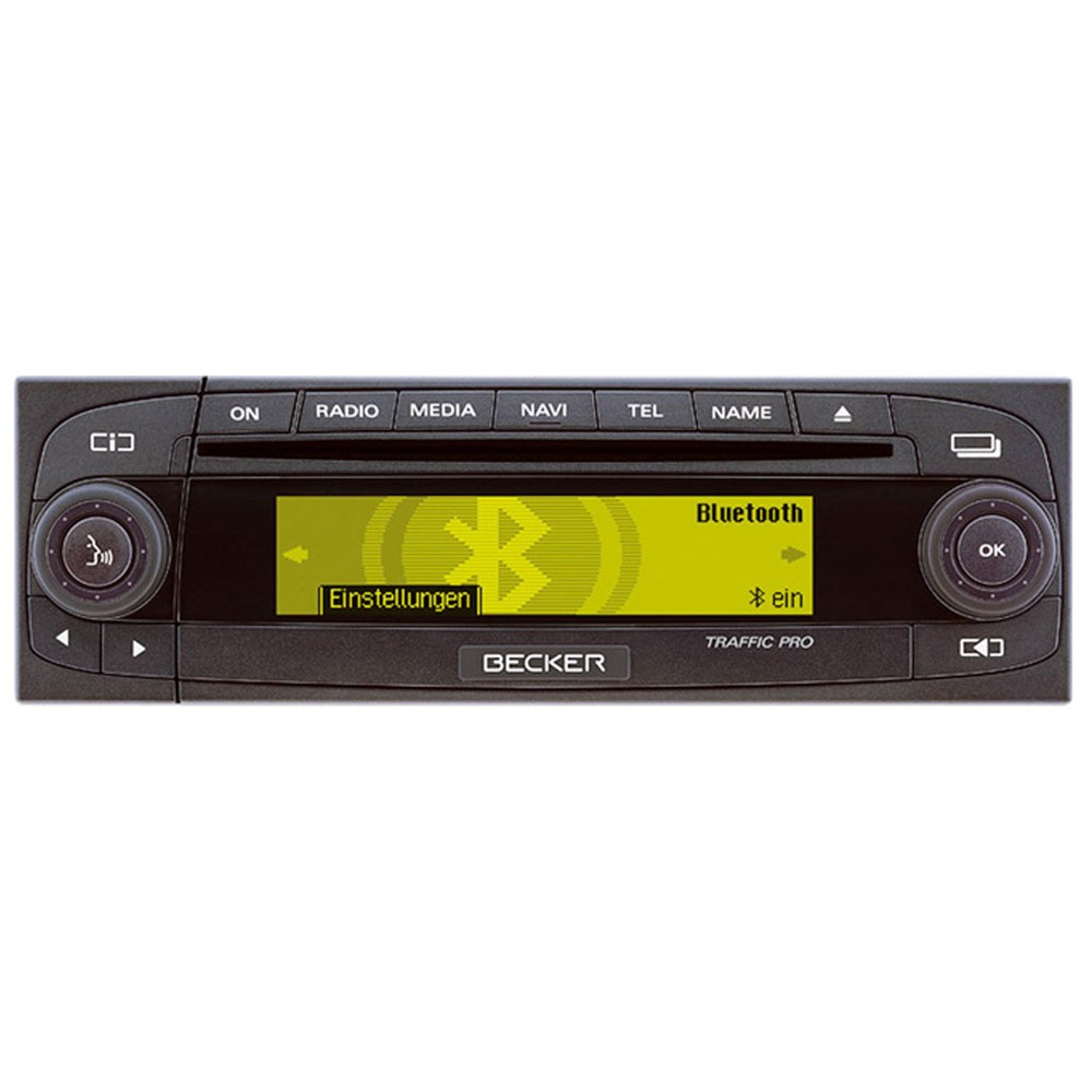 becker traffic pro 7945 cd stereo with sat nav mp3. Black Bedroom Furniture Sets. Home Design Ideas