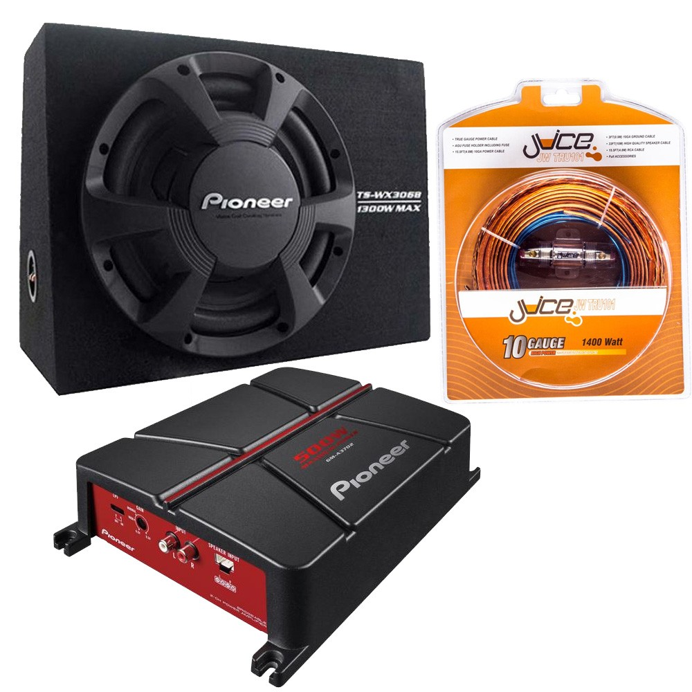 Sub and Amp Packages Pioneer TS-WX306B