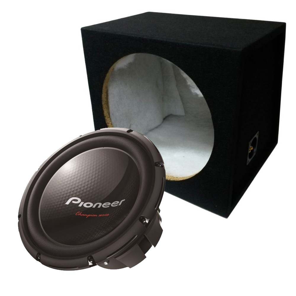 Sub and Amp Packages Pioneer TS-W309D4 + BX12S