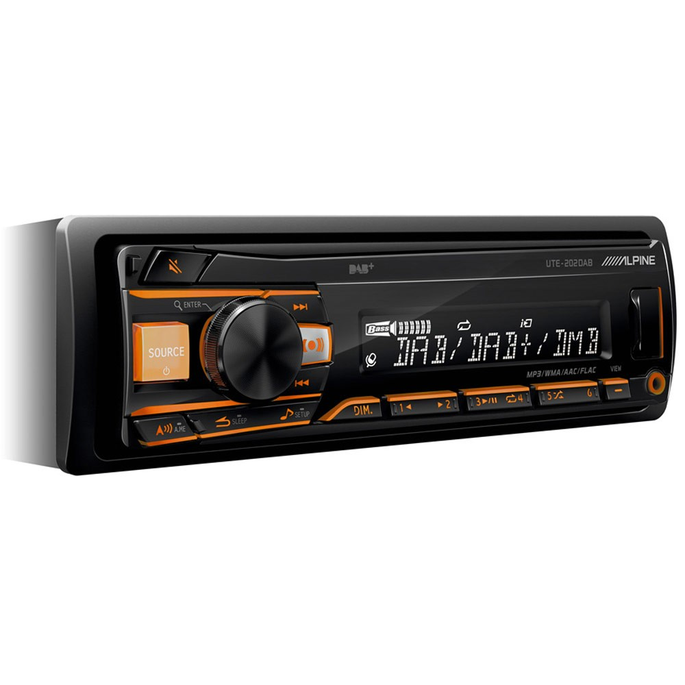 Aux in Alpine Car Audio Systems UTE202DAB
