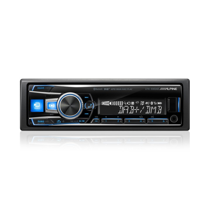 Mechless Car Stereo Alpine Car Audio Systems UTE-93DAB 1