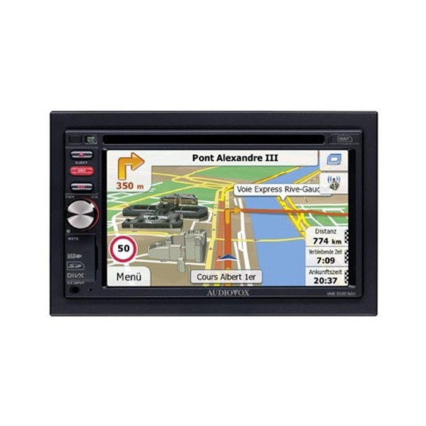 In Car Sat Nav Audiovox VME-9520NAV