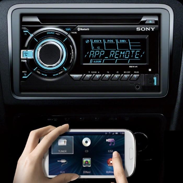 wx-gt90bt double din car stereo cd/mp3 bluetooth handsfree b