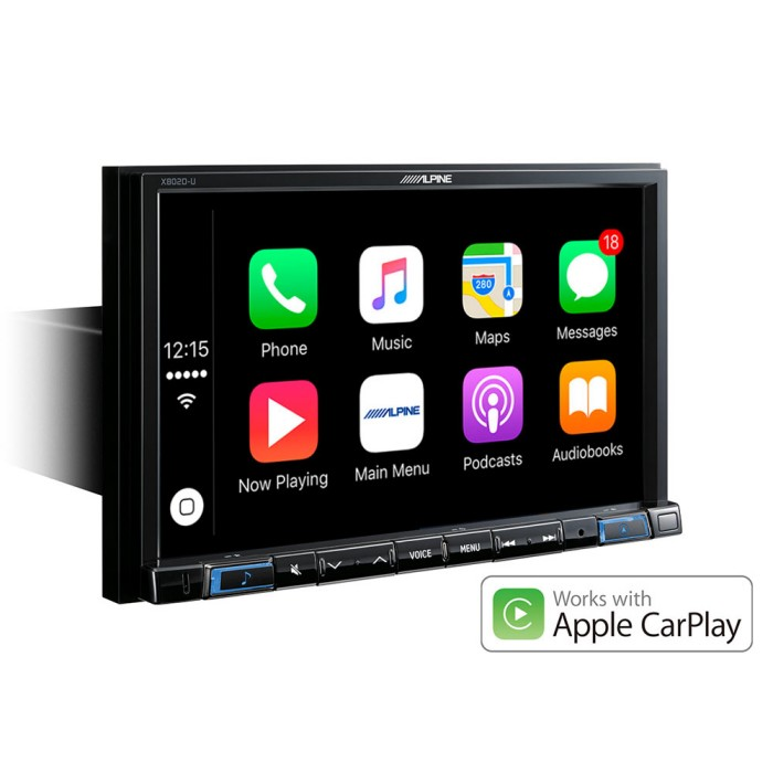Apple Car Play Alpine Car Audio Systems X803D-U 5