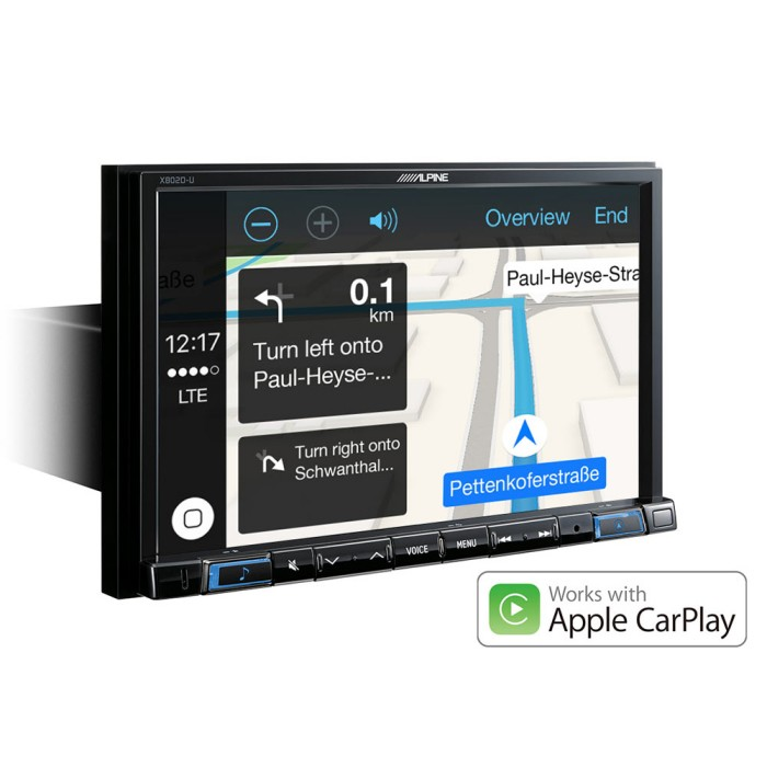 Apple Car Play Alpine Car Audio Systems X803DC-U 3