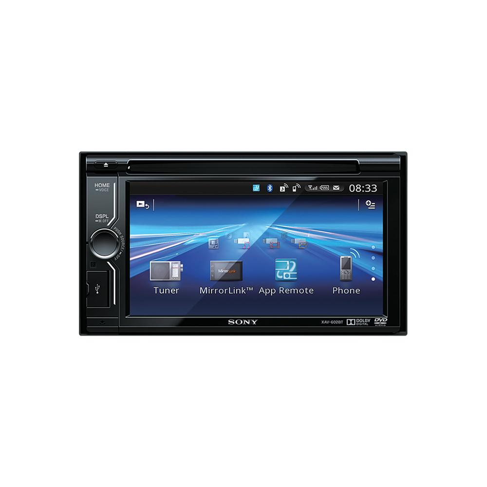 Xav 602bt car cddvd multimedia system with built in blueto cdmp3 player sony xav 602bt 2 publicscrutiny Images