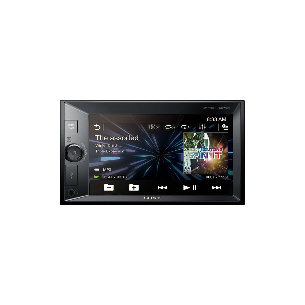 Double din screen Sony XAV-W650BT