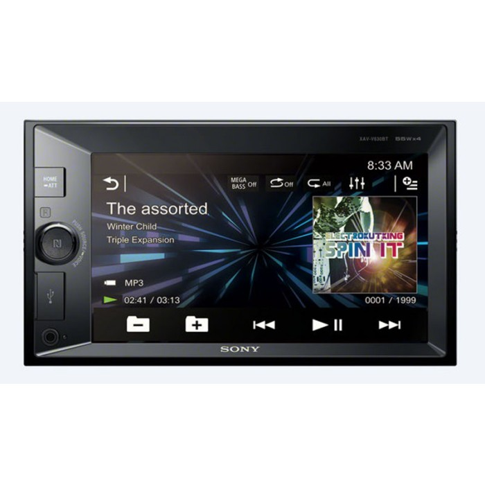 Double din screen Sony XAV-W650BT 1