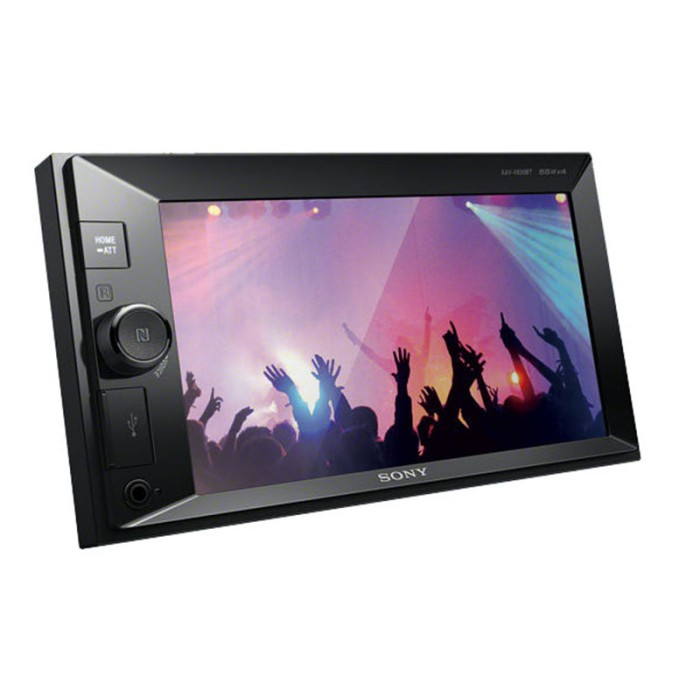 Double din screen Sony XAV-W650BT 2
