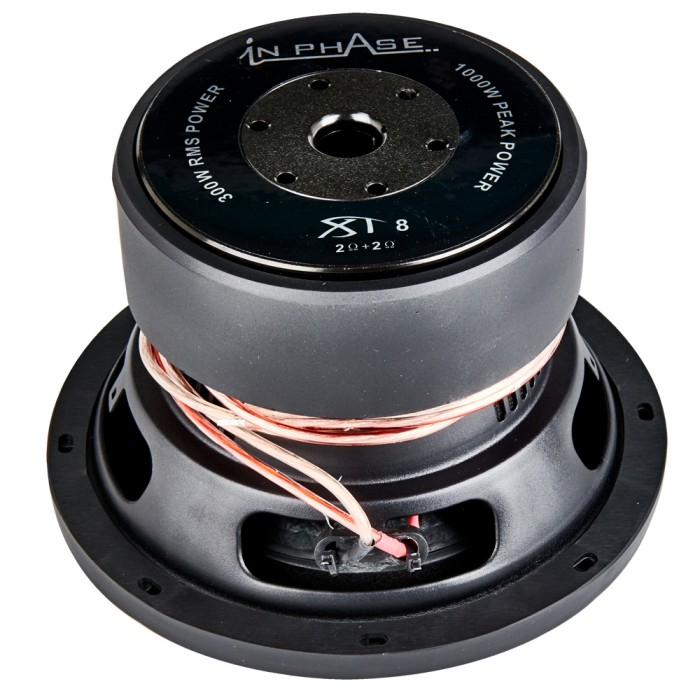 Sub Woofers In Phase Car Audio XT-8 3