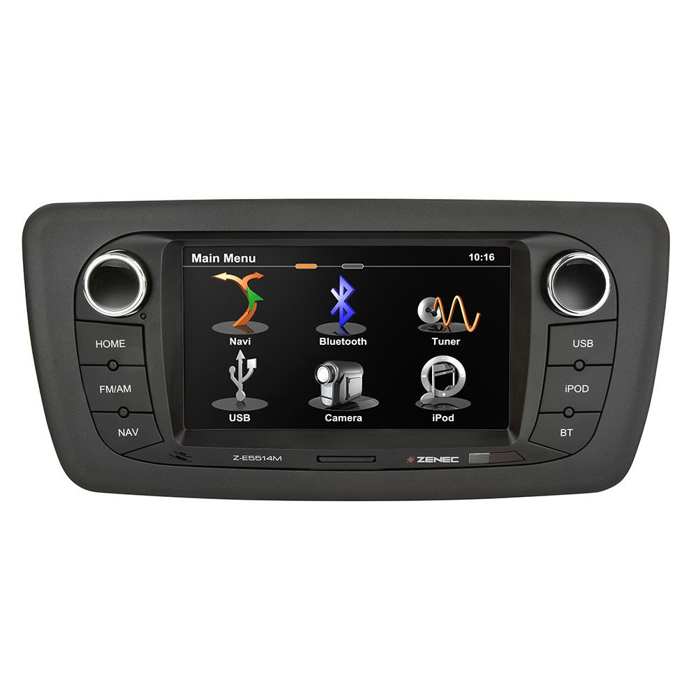 zenec z e5514m navigation system upgrade for seat ibiza. Black Bedroom Furniture Sets. Home Design Ideas