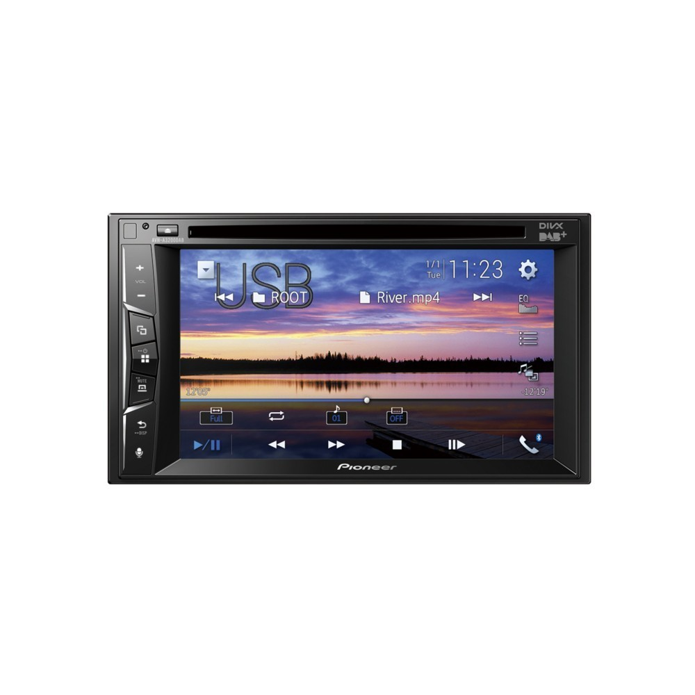 Double Din Screen Pioneer AVH-A3200DAB