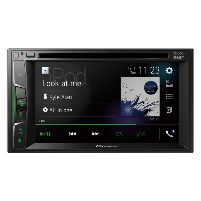 Double Din Screen Pioneer AVH-A3200DAB 1