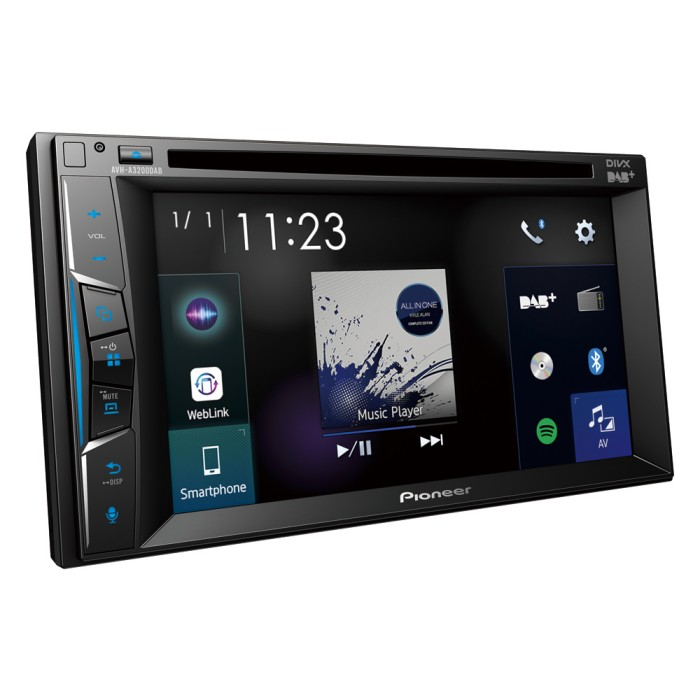Double Din Screen Pioneer AVH-A3200DAB 2