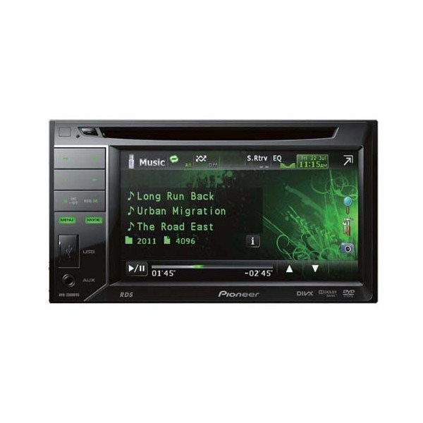 Double din screen Pioneer AVH-2300DVD