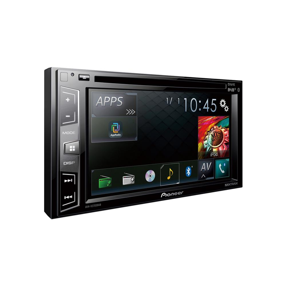 Avh X3700dab Double Din Av Station Built In Dab Radio And Bluetooth Pioneer Car Stereo Wireing Diagram For A 3700 Screen 2