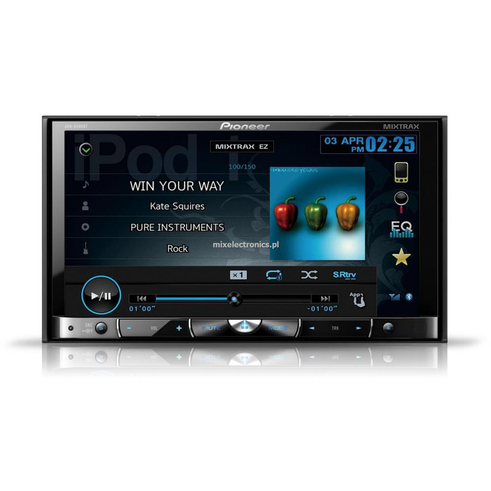 Of the line double din touch screen car stereos from pioneer and sony - Double Din Screen Pioneer Avh X5500bt