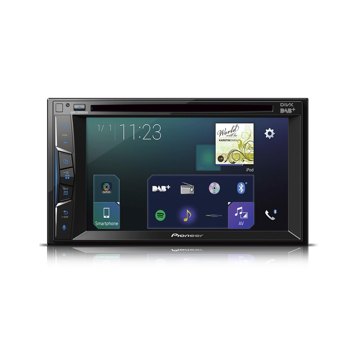 Double Din Screen Pioneer AVH-Z3000DAB 1