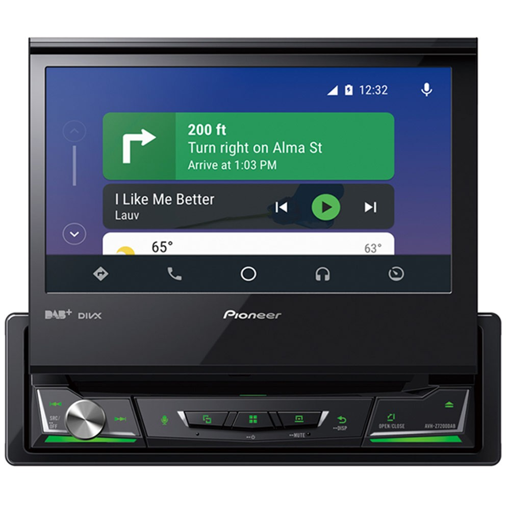 Pioneer Avh Z7200dab 7 Multimedia Player With Apple Carplay Android Auto Dab Dab Waze And Bluetooth