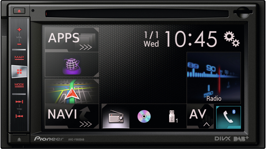 Sony car stereo with bluetooth and gps 7