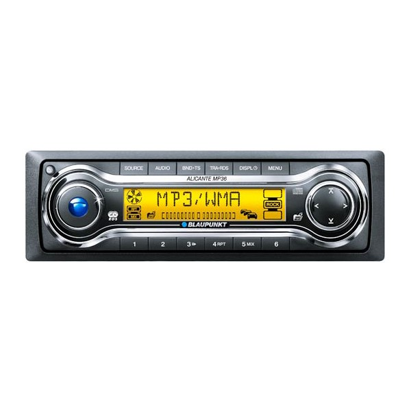 blaupunkt alicante mp36 cd mp3 radio fm am. Black Bedroom Furniture Sets. Home Design Ideas