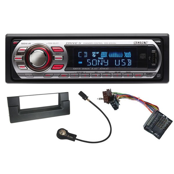 bmw 5 series 2002 2005 sony cdx gt610u bmw 5 series (e39) car stereo upgrade kit get cdx sony cdx gt610ui wiring diagram at n-0.co