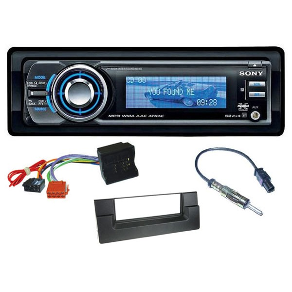 Sony Car Audio BMW 5 series (E60) car stereo upgrade kit (up to 2005)