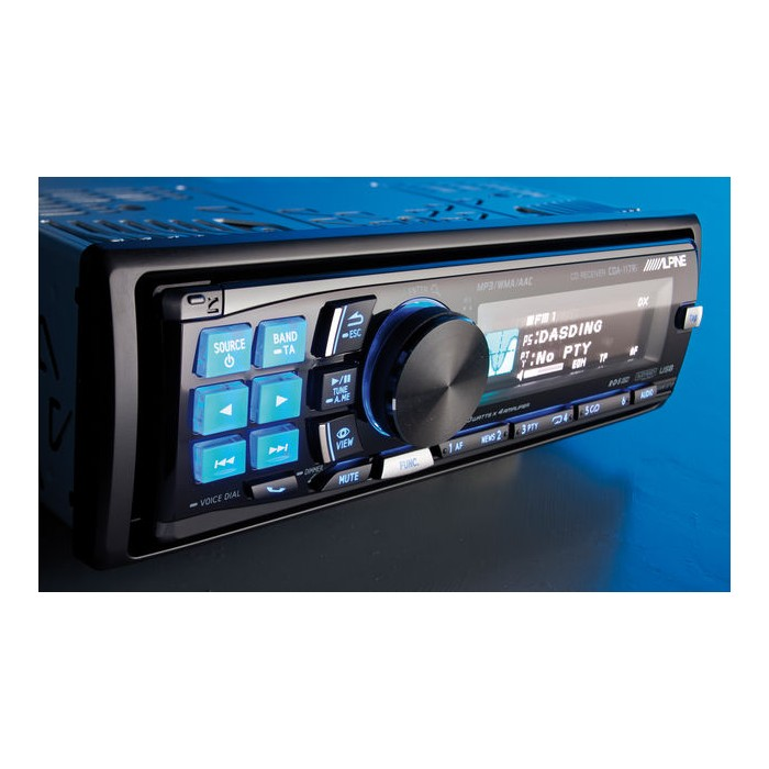 alpine cda 117ri cd mp3 wma ipod ready car stereo with itun. Black Bedroom Furniture Sets. Home Design Ideas