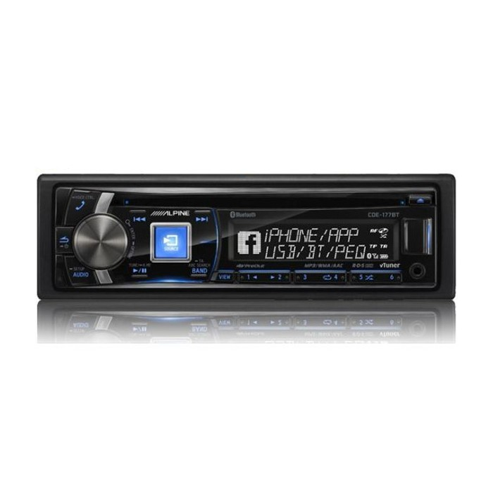 CD/MP3 Player Alpine Car Audio Systems CDE-177BT