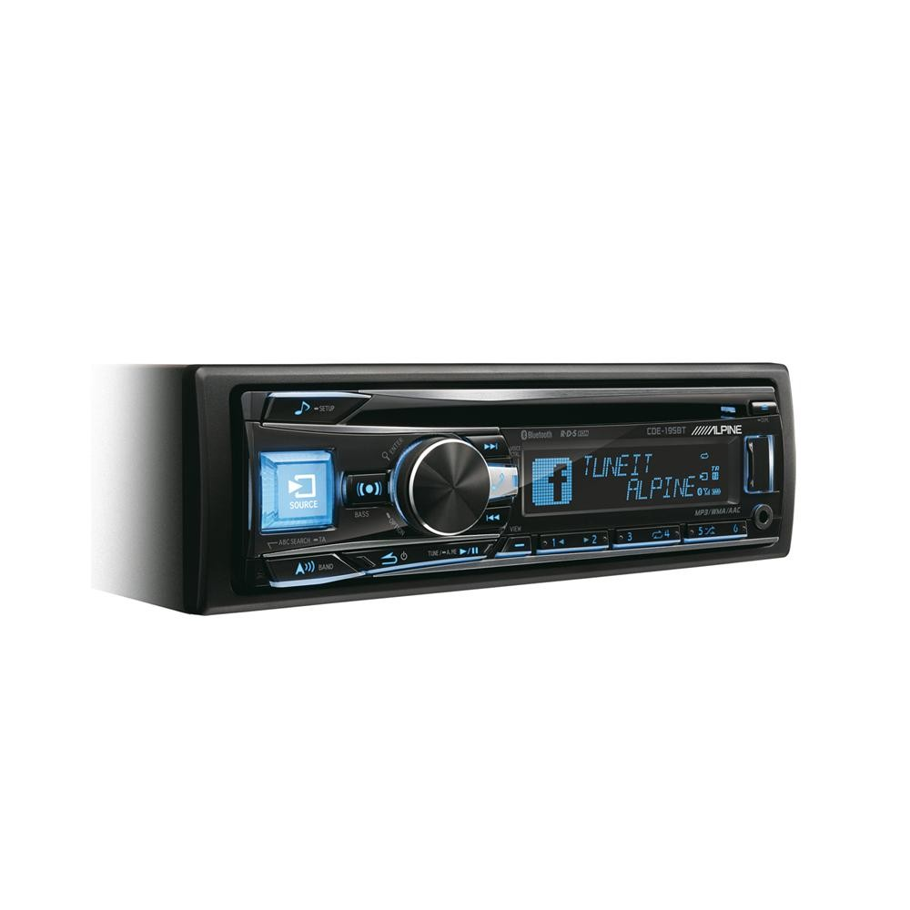 Aux in Alpine CDE-195BT