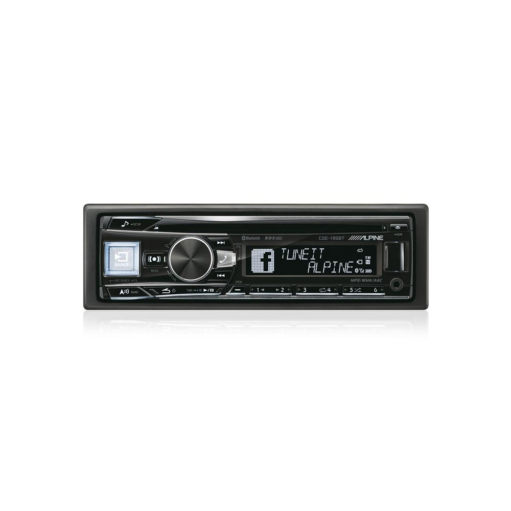 Aux in Alpine CDE-195BT 3