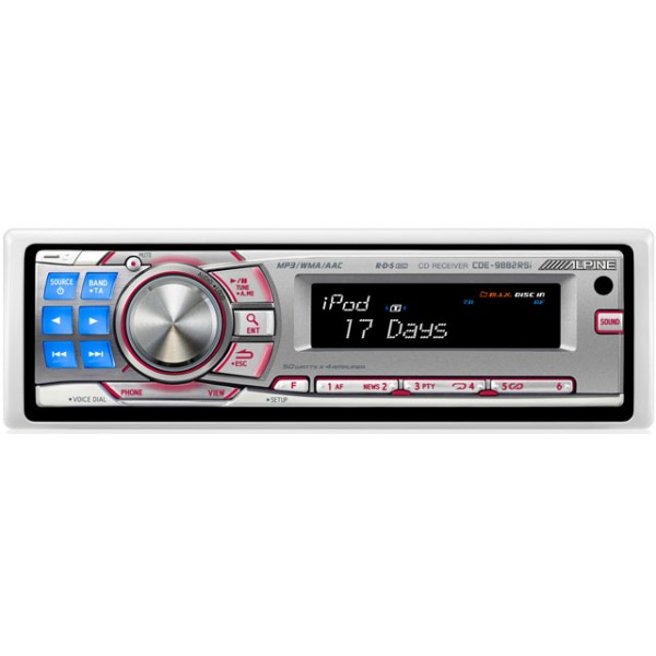 CD/MP3 Player Alpine CDE-9882RSi