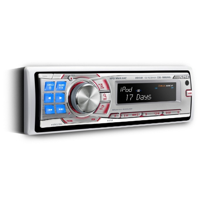 CD/MP3 Player Alpine CDE-9882RSi 2