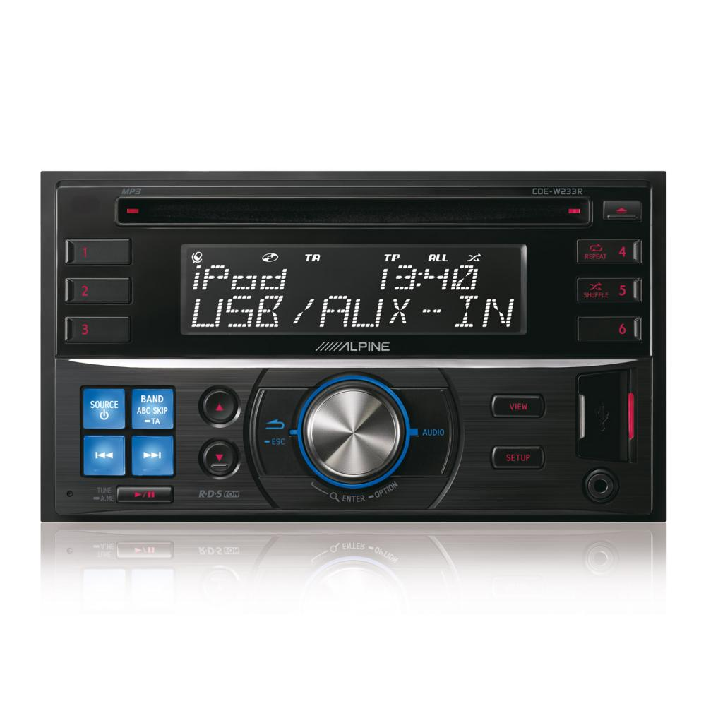 CD/MP3 Player Alpine CDE-W233R