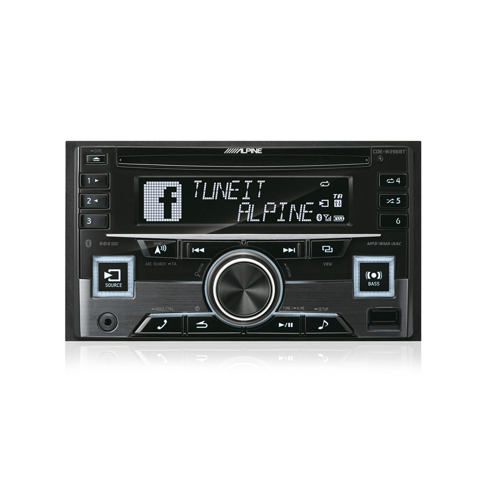 Bluetooth Compatible Alpine Car Audio Systems CDE-W296BT 1