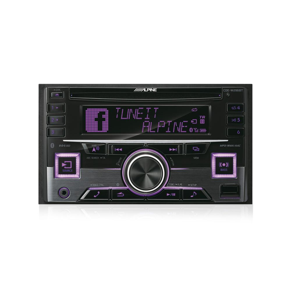 Bluetooth Compatible Alpine Car Audio Systems CDE-W296BT 2