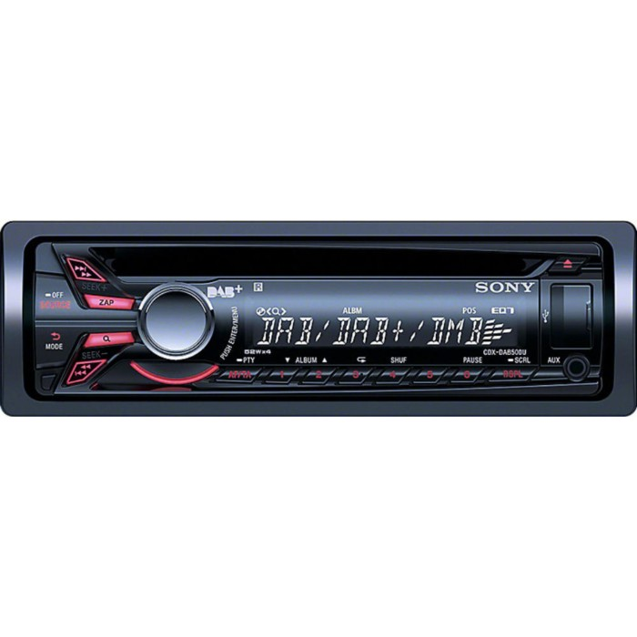 DAB Car Radio Sony Car Audio CDX-DAB500U