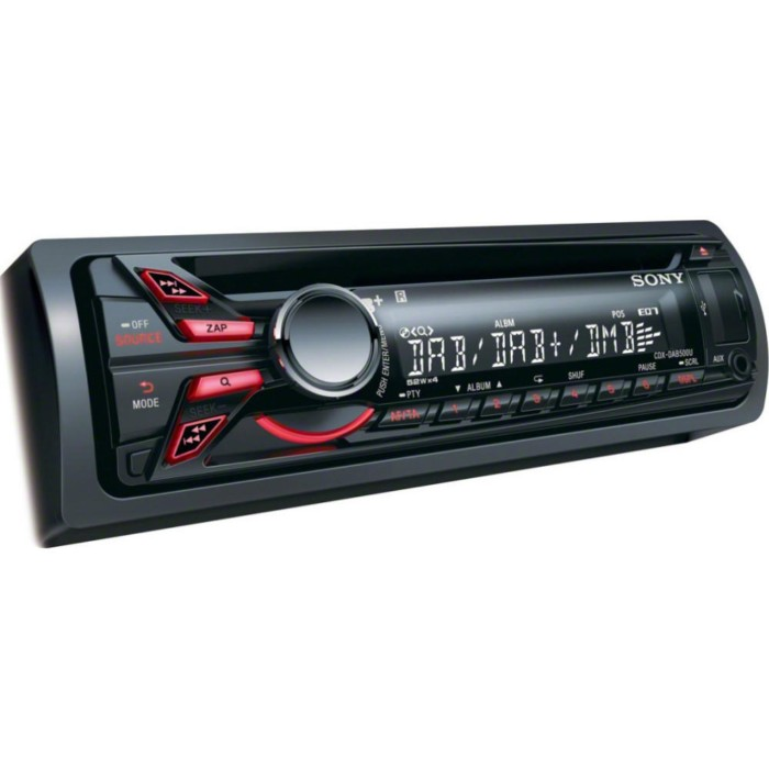 DAB Car Radio Sony Car Audio CDX-DAB500U 1