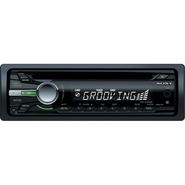 Aux in Sony CDX-GT264MP 1