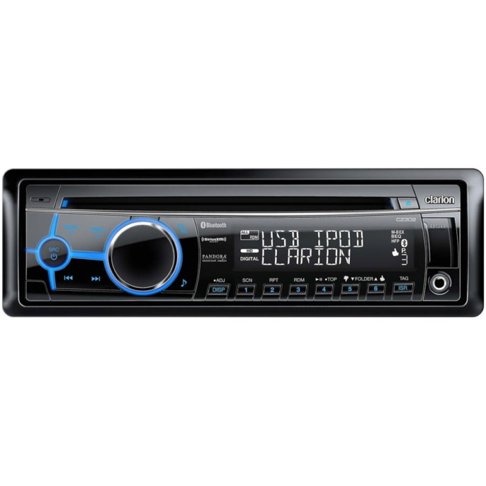 CD/MP3 Player Clarion CZ302E